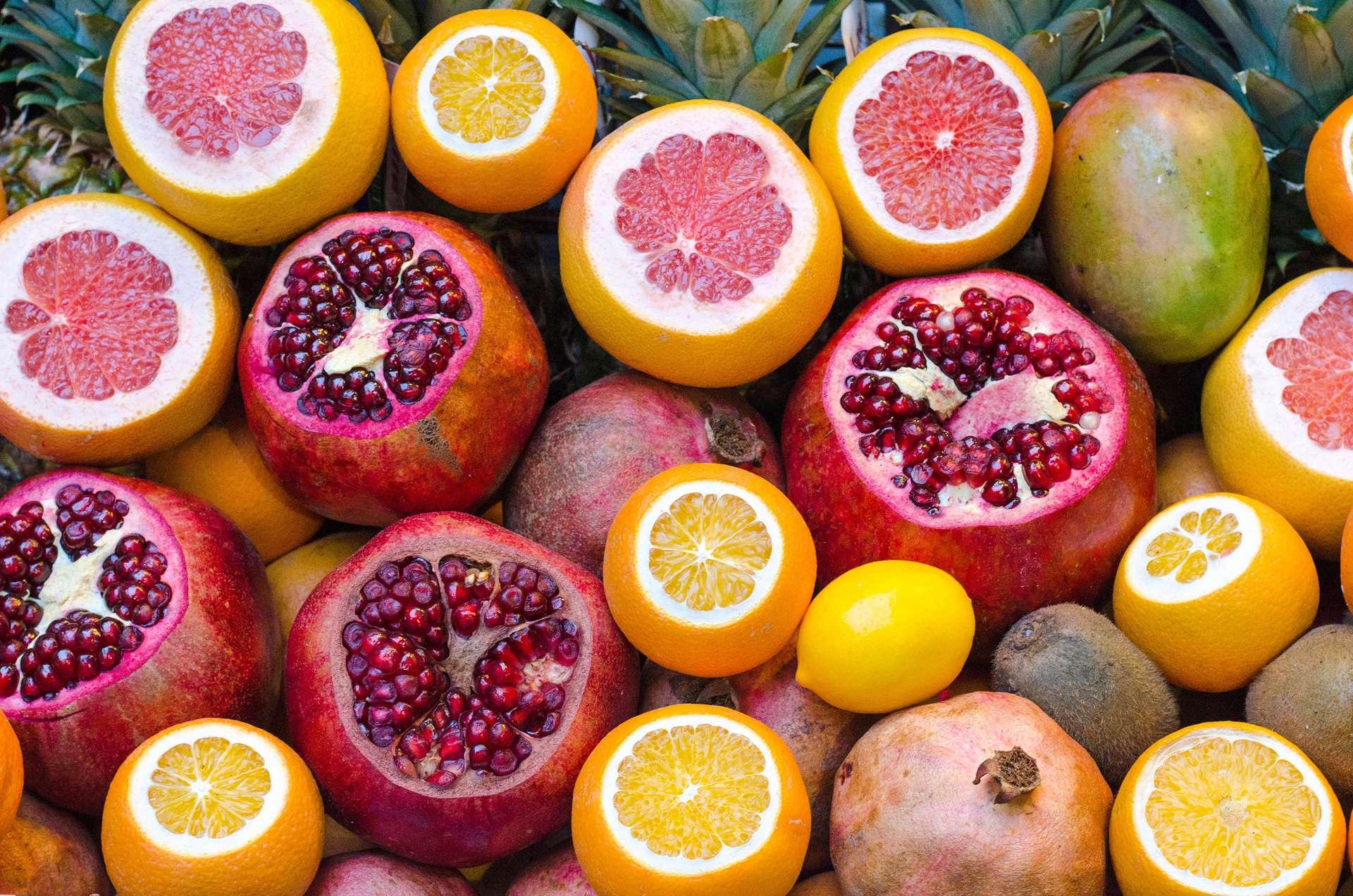 最高水果和鮮奶濃度