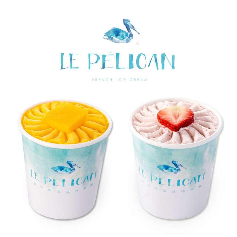 貝力岡法式冰淇淋 共享杯2入組 (任選2種口味)